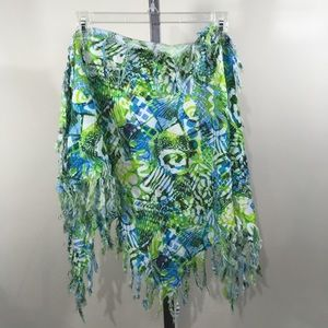 ROXY Tropical Fringe Scarf Swim Sarong Wrap